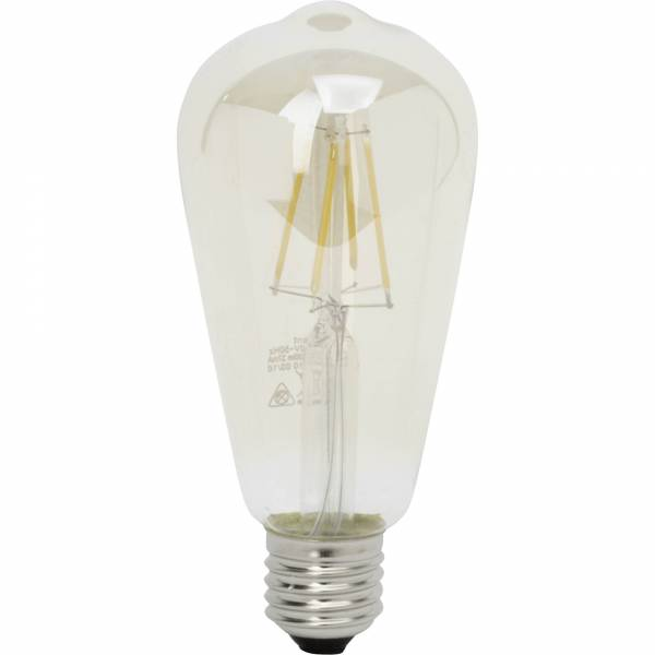 LED-Normallampe, Filament E27, 4W, 400lm warmweiß 2500K Brilliant AG 96694A10