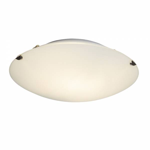 Melania Led Wall And Ceiling Light 25cm Frosted Glass